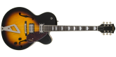 Gretsch Guitars - G2420 Streamliner Hollow Body with Chromatic II, Laurel Fingerboard - Aged Brooklyn Burst