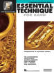 Hal Leonard - Essential Technique for Band (Intermediate to Advanced Studies) Book 3 - Baritone Saxophone - Book/Media Online (EEi)