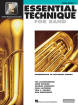 Hal Leonard - Essential Technique for Band (Intermediate to Advanced Studies) Book 3 - Tuba - Book/Media Online (EEi)