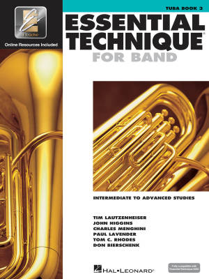 Essential Technique for Band (Intermediate to Advanced Studies) Book 3 - Tuba - Book/Media Online (EEi)
