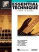 Hal Leonard - Essential Technique for Band (Intermediate to Advanced Studies) Book 3 - Electric Bass - Book/Media Online (EEi)