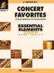 Hal Leonard - Concert Favorites Vol. 1 (15 Easy Selections for Concert Band) - Baritone Saxophone - Book