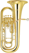 Yamaha Band - 4-Valve Euphonium - 11 Bell - Clear Lacquer