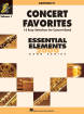 Hal Leonard - Concert Favorites Vol. 1 (15 Easy Selections for Concert Band) - Baritone T.C. - Book