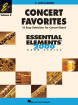 Hal Leonard - Concert Favorites Vol. 2 (15 Easy Selections for Concert Band) - Alto Clarinet - Book