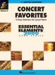 Hal Leonard - Concert Favorites Vol. 2 (15 Easy Selections for Concert Band) - Baritone Saxophone - Book