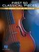 Hal Leonard - First 50 Classical Pieces You Should Play on the Violin - Walters - Violin/Piano - Book