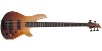 Schecter - SLS Elite-5 String Bass - Antique Fade Burst