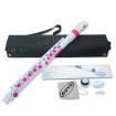 Nuvo - jFlute 2.0 Kit with Donut Head Joint - White/Pink