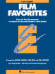 Hal Leonard - Essential Elements Film Favorites - Sweeney/Lavender/Moss - Alto Clarinet - Book
