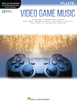 Video Game Music: Instrumental Play-Along - Flute - Book/Audio Online