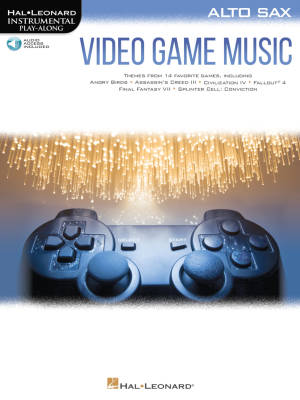 Video Game Music: Instrumental Play-Along - Alto Sax - Book/Audio Online