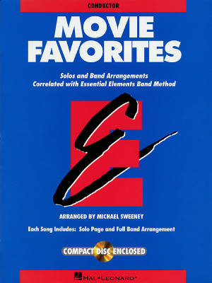 Essential Elements Movie Favorites - Sweeney - Conductor - Book/CD