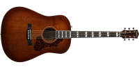 Godin Guitars - Metropolis LTD Acoustic/Electric Guitar with Case - Havana Burst