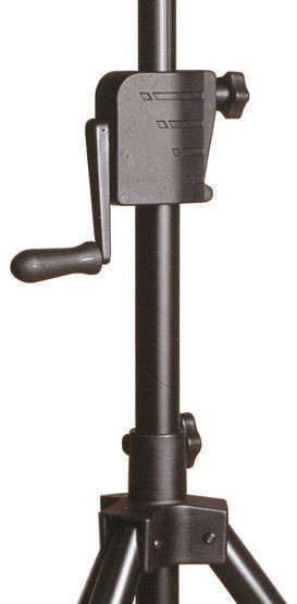 yorkville sound crank up speaker stand long mcquade musical instruments. Black Bedroom Furniture Sets. Home Design Ideas