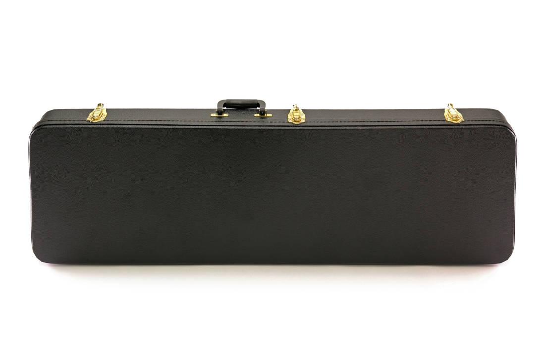 yorkville sound hardshell rectangular bass case long mcquade musical instruments. Black Bedroom Furniture Sets. Home Design Ideas