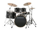 Ludwig Drums - Evolution 6-Piece Shell Pack with ZBT Cymbals (10, 12, 14, 16, 22, 5x14S) - Black Sparkle