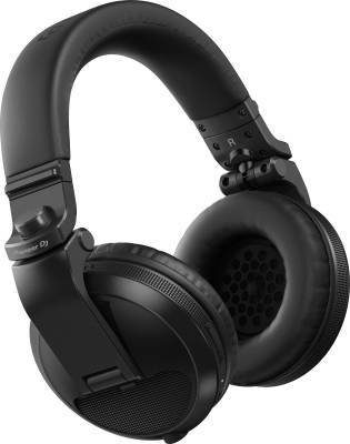 HDJ-X5BT Over-Ear DJ Bluetooth Headphones - Black