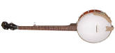 Gold Tone - CC-50 Entry Level Open Back 5-String Banjo - Left-Handed