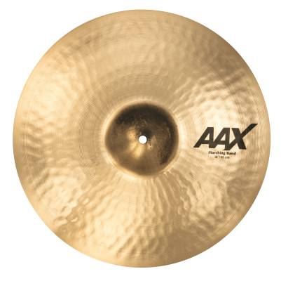 AAX 18'' Marching Band Single Cymbal - Brilliant
