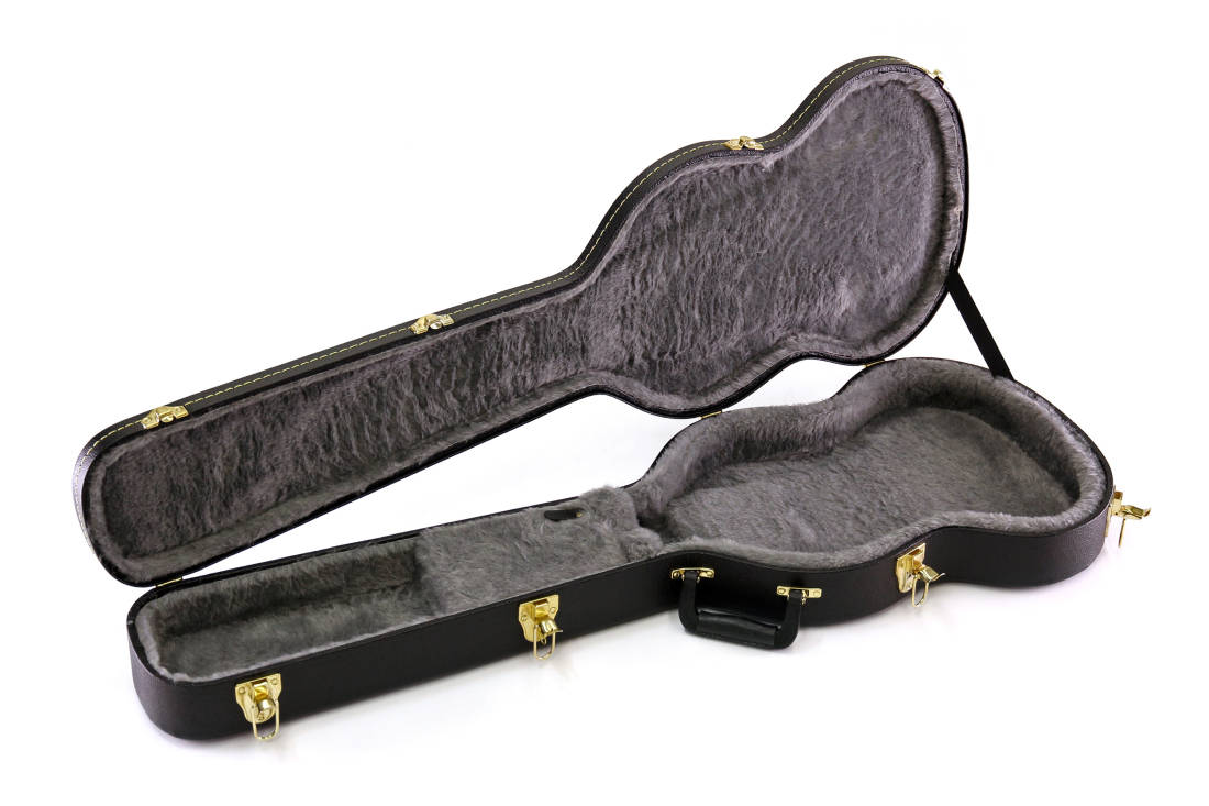 yorkville sound hardshell sg guitar case long mcquade musical instruments. Black Bedroom Furniture Sets. Home Design Ideas