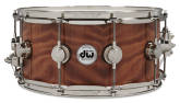 Drum Workshop - John Good Exotic 6.5x14 Snare - Vertical Grain Redwood Curl