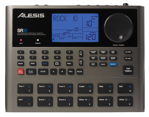SR-18 - 24 Bit Stereo Drum Machine