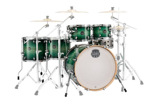 Armory 6-Piece Studioease Fast Shell Pack - Emerald Burst