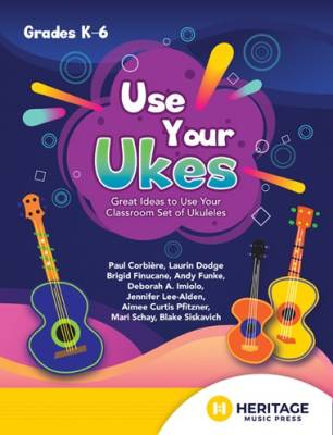 Use Your Ukes  - Popp - Book/Media Online