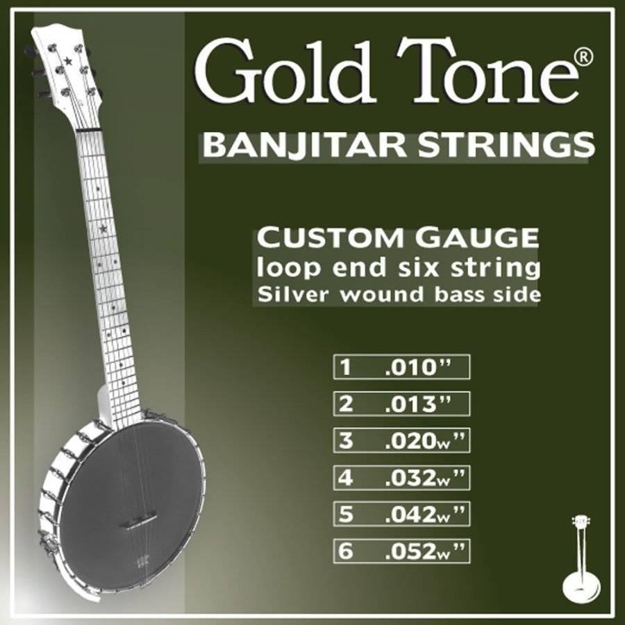 Gold Tone Banjitar Strings Gold Tone Banjitar String
