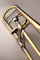 Q-Series Large Bore Professional Trombone with Rotary F-Attachment - Gold-Brass Bell