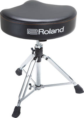Saddle Drum Throne, Vinyl Seat