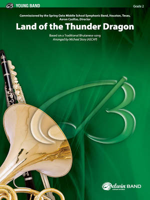 Land of the Thunder Dragon - Traditional Bhutanese/Story - Concert Band - Gr. 2