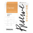 DAddario - Reserve Evolution Bb Clarinet Reeds, Strength 3.5 - 10 Pack