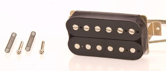gibson burstbucker 3 hot output humbucker black long mcquade musical instruments. Black Bedroom Furniture Sets. Home Design Ideas