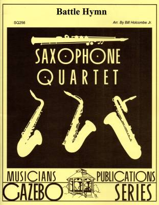 Battle Hymn - Holcombe - Saxophone Quartet