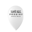 Ernie Ball - Prodigy White Teardrop Picks 2.0mm (6)