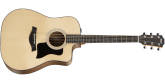 Taylor Guitars - 110ce Dreadnought Walnut/Spruce Acoustic Electric Guitar with Gigbag