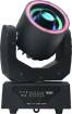 Hypno Spot Moving Head w/30W RGBW LED, 9 Gobos, 3 LED Rings