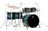 Mapex - Saturn V MH Exotic Studioease 5-Piece Shell Pack - Deep Water Maple Burl