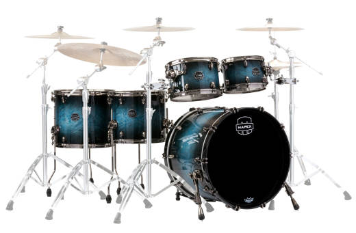 Saturn V MH Exotic Studioease 5-Piece Shell Pack - Deep Water Maple Burl