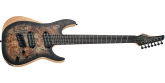 Schecter - Reaper-7 Multi-Scale Electric Guitar - Satin Charcoal Burst