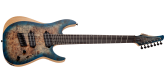 Schecter - Reaper-7 Multi-Scale Electric Guitar - Satin Sky Burst