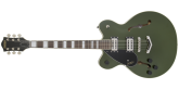 Gretsch Guitars - G2622LH Streamliner Center Block with V-Stoptail, BroadTron BT-2S Pickups, Left-Handed - Torino Green