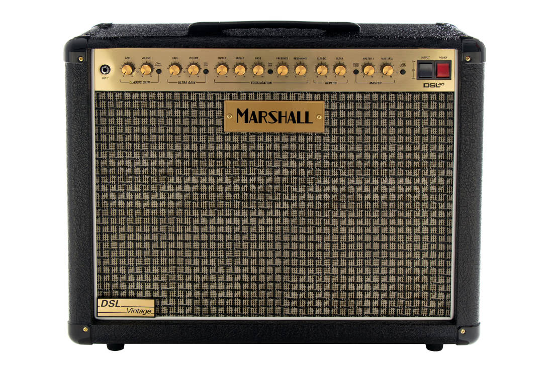 Marshall - DSL 2-Channel 40W 1x12 Combo Amp w/Vintage Grillcloth