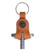 Tackle Instrument Supply Co. - Leather Drum Key Holder - Saddle Tan