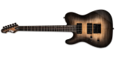 ESP Guitars - LTD TE-1000 EverTune Electric Guitar - Left Handed - Black Natural Burst