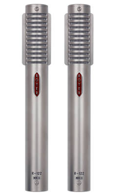 R-122 MKII Live Active Ribbon Microphones - Matched Pair