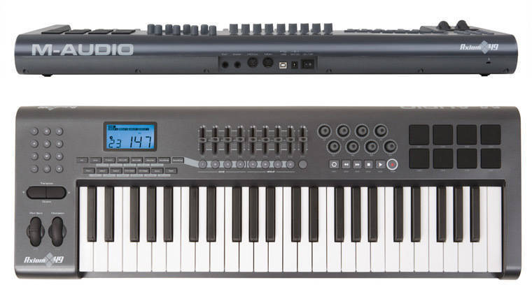 Image result for m-audio axiom 49