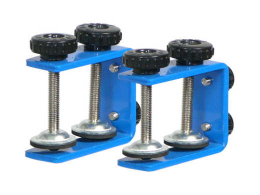 Table/Case Laptop Stand Clamps - Blue